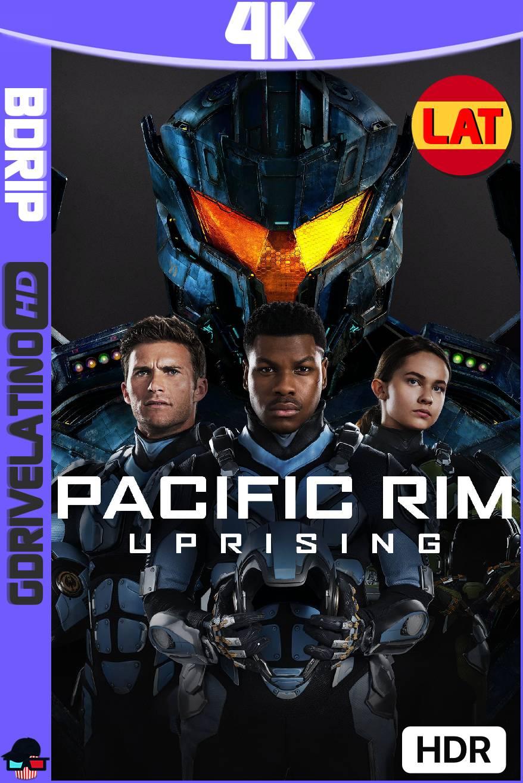 Titanes del Pacífico: La Insurrección (2018) BDRip 4K HDR Latino-Ingles MKV