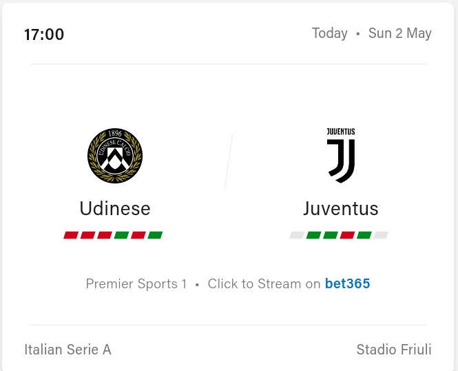 Udinese vs Juventus Preview and Prediction 2021