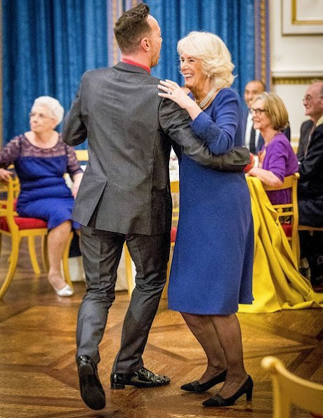 attended by National Osteoporosis Society, the BBC Strictly dancers and Christmas Special celebrities