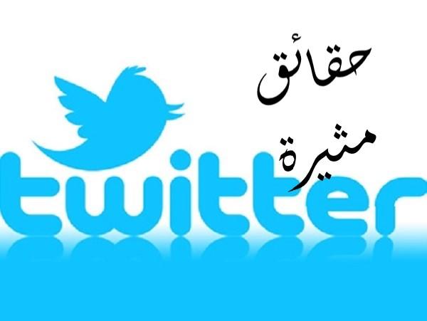 """تويتر """"Twitter"""" و حقائق مثيرة عنه"""
