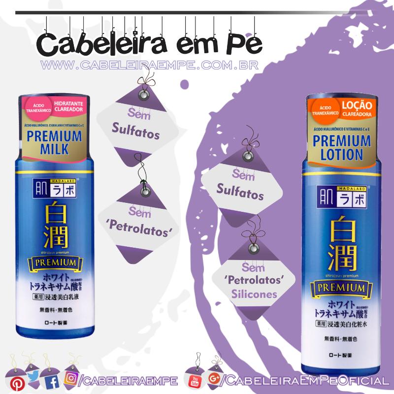 Shirojyun Premium Whitening (Lotion e Milk) - Hada Labo