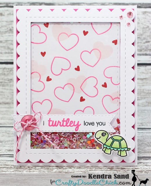 Sunny Studio Stamps: Turtley Awesome Customer Card Share by Kendra Sand