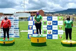 Otra medalla de Oro para Sara López