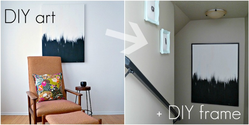 How to build a frame for canvas art