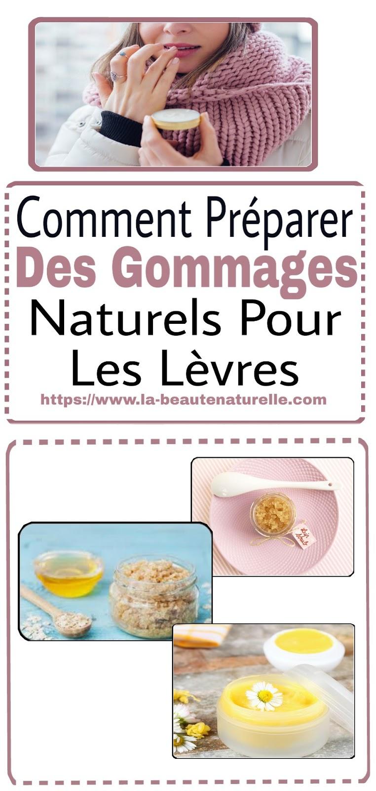 Comment Préparer Des Gommages Naturels Pour Les Lèvres