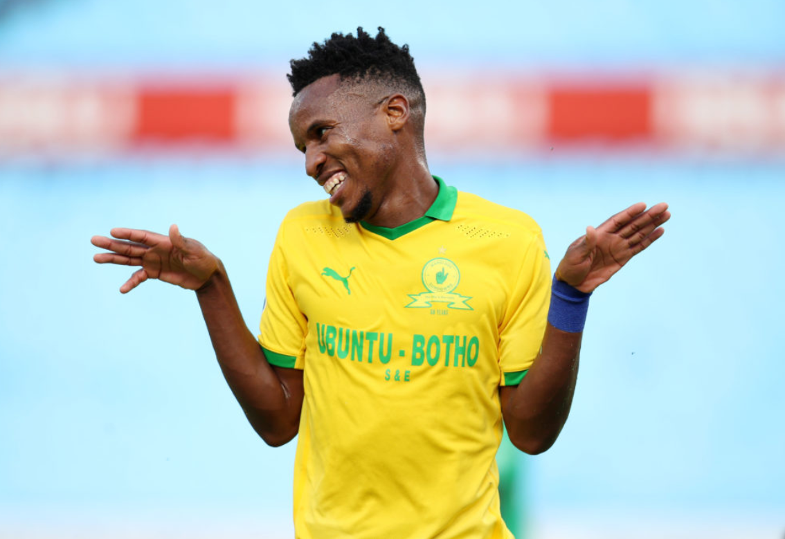 Themba Zwane displayed his class as he banged in a hattrick in Masandawana's 4-3 victory against AmaZulu