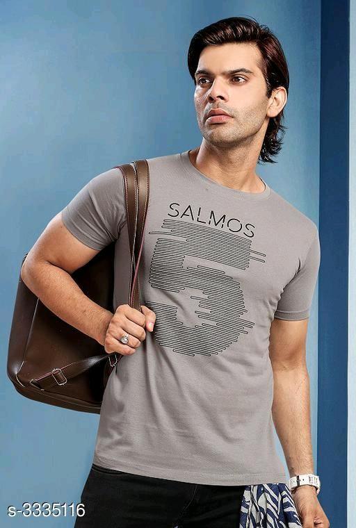 Eloya Stylish 100% Cotton Printed Men's T-Shirts Vol 7