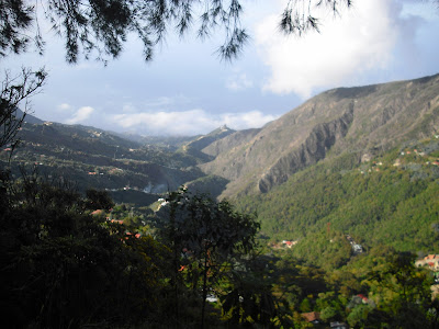 Some of the views from up in Parque Nacional Warairarepano in Caracas ...