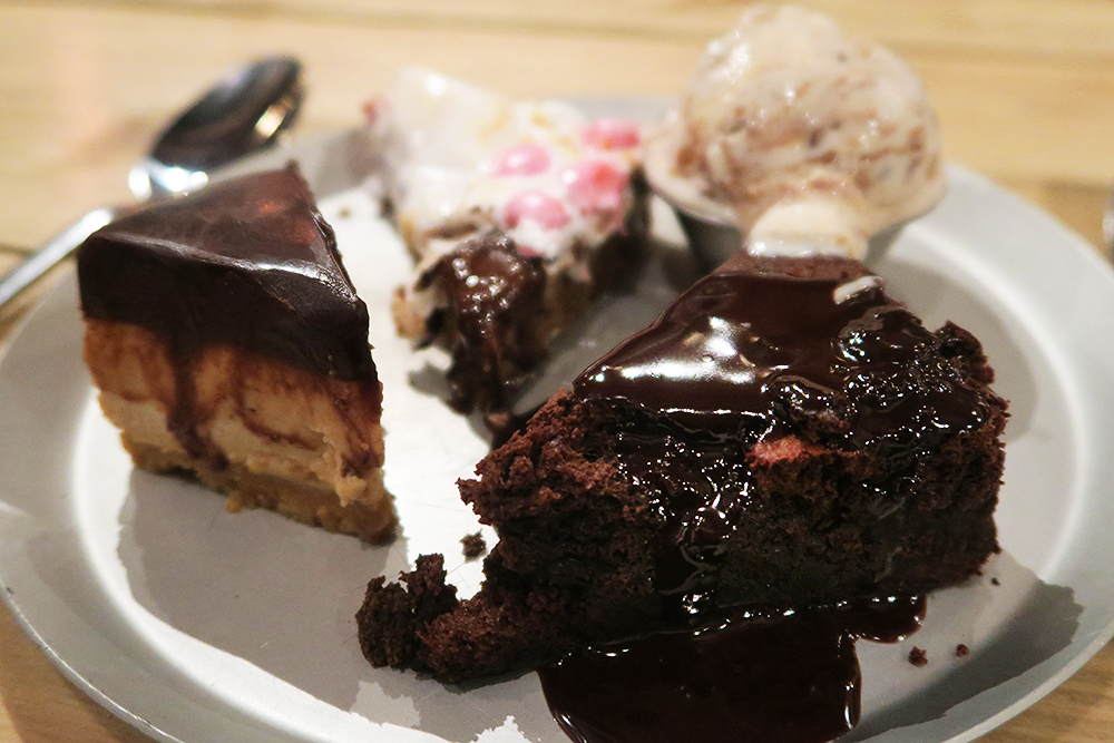 Desserts at at Smoke Barbecue Leeds