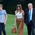 Five months after inauguration, Melania and Barron Trump finally move into the White House