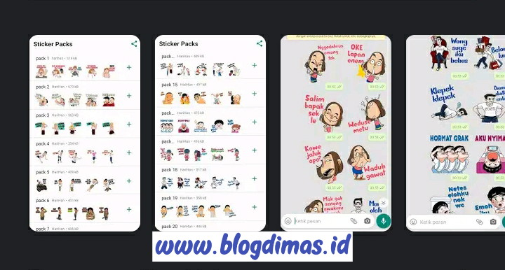 Sticker Whatsapp Jawa
