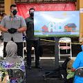 Presiden Jokowi Tinjau Vaksinasi Massal di Kota Yogyakarta