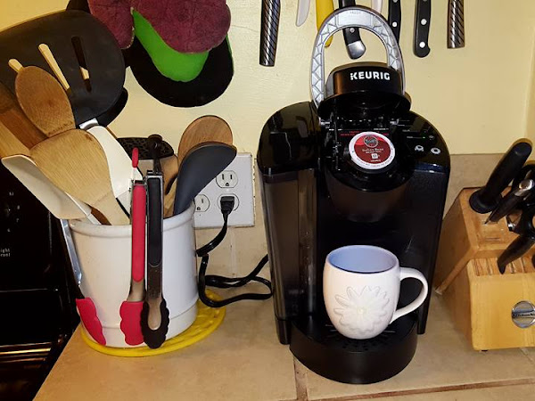 Now Dad Can Have the Perfect Coffee Break with the Keurig K55 Coffee Maker + Tully's Coffee K-Cup Pods