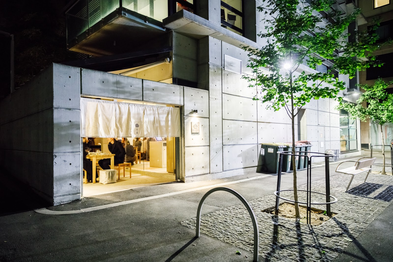 This Tiny 25 Seater Restaurant Is Deceptive As The Simple Looks Hide  Something Far Beyond Its Exterior. Behind The Noren Curtains Is A Simple  Light Wood ...