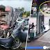 (Video) 2 maut dan 4 cedera, kereta bertembung dengan lori tangki