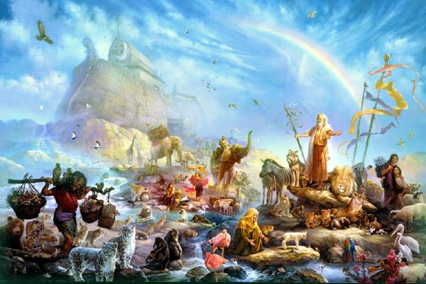 Noé-sale-arca