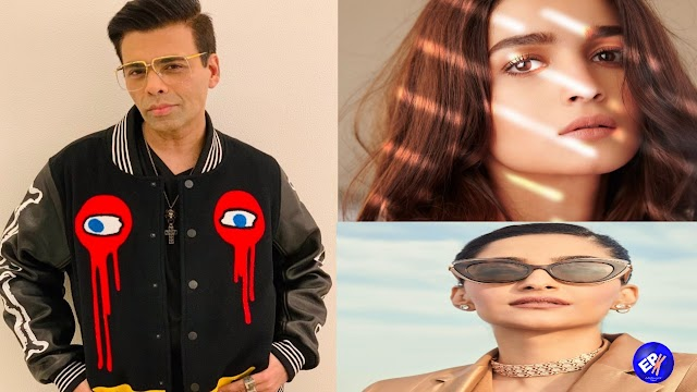 Karan Johar's drug announcement received the support of Bollywood friends; Aliya, Sonam and others Join