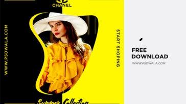 Free Download Summer Sale Fashion Banner