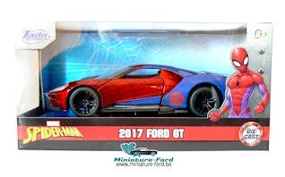 Jada, Ford GT, Spider-Man