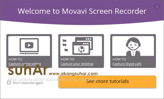 Movavi Screen Recorder full version