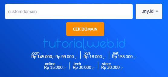 Cara Cek Domain di Niagahoster - Tutorial.web.id