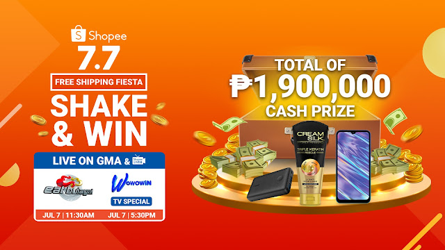 Shopee 7.7 Flash Deals on Wowowin and Eat Bulaga
