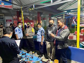 40 Personil Diterjunkan Kelapas Masamba, Razia Dipimpin Kapolres Luwu Utara