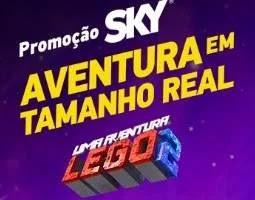 Cadastrar Promoção Sky LEGO 2019 Aventura Tamanho Real - Viagem Legoland Califórnia