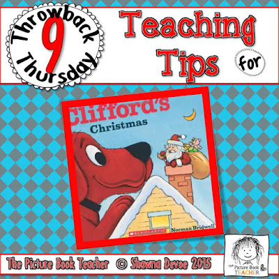Clifford's Christmas by Norman Bridwell TBT - Teaching Tips.