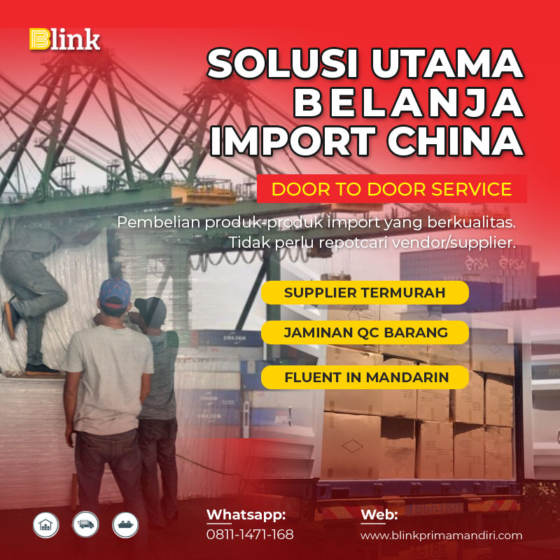 Solusi Utama Belanja Impor China - BLINK