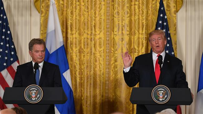 Finnish President Sauli Niinistö denies US President Donald Trump's comments on Boeing