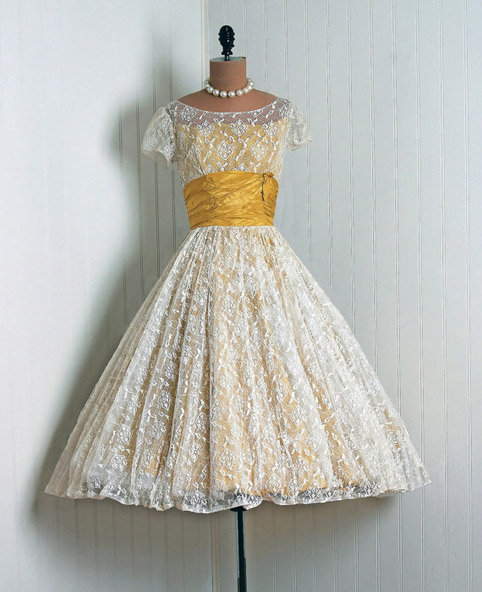 Savoir Weddings Original 1950s Wedding Dresses