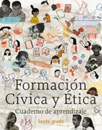 Libro de texto Formación Cívica y Ética Cuaderno de Aprendizaje Sexto grado 2020-2021