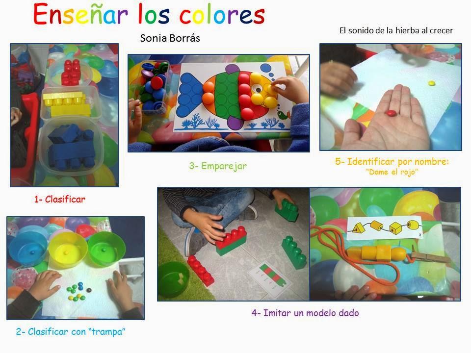 Formas Y Colores A Ordenar El Sonido De La Hierba Al Crecer