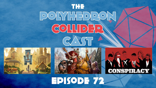 The Polyhedron Collider Cast Episode 72 - Tapestry & Teslas