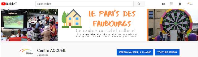 Chaine Youtube du Pari's des Faubourgs