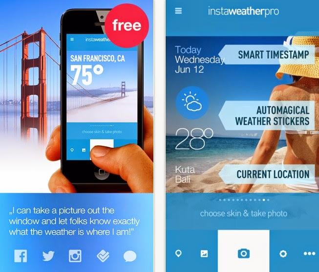 تطبيق Insta Weather