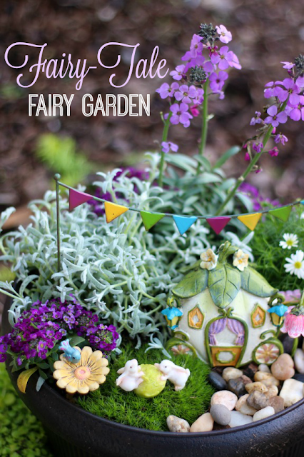 fairytale fairy garden