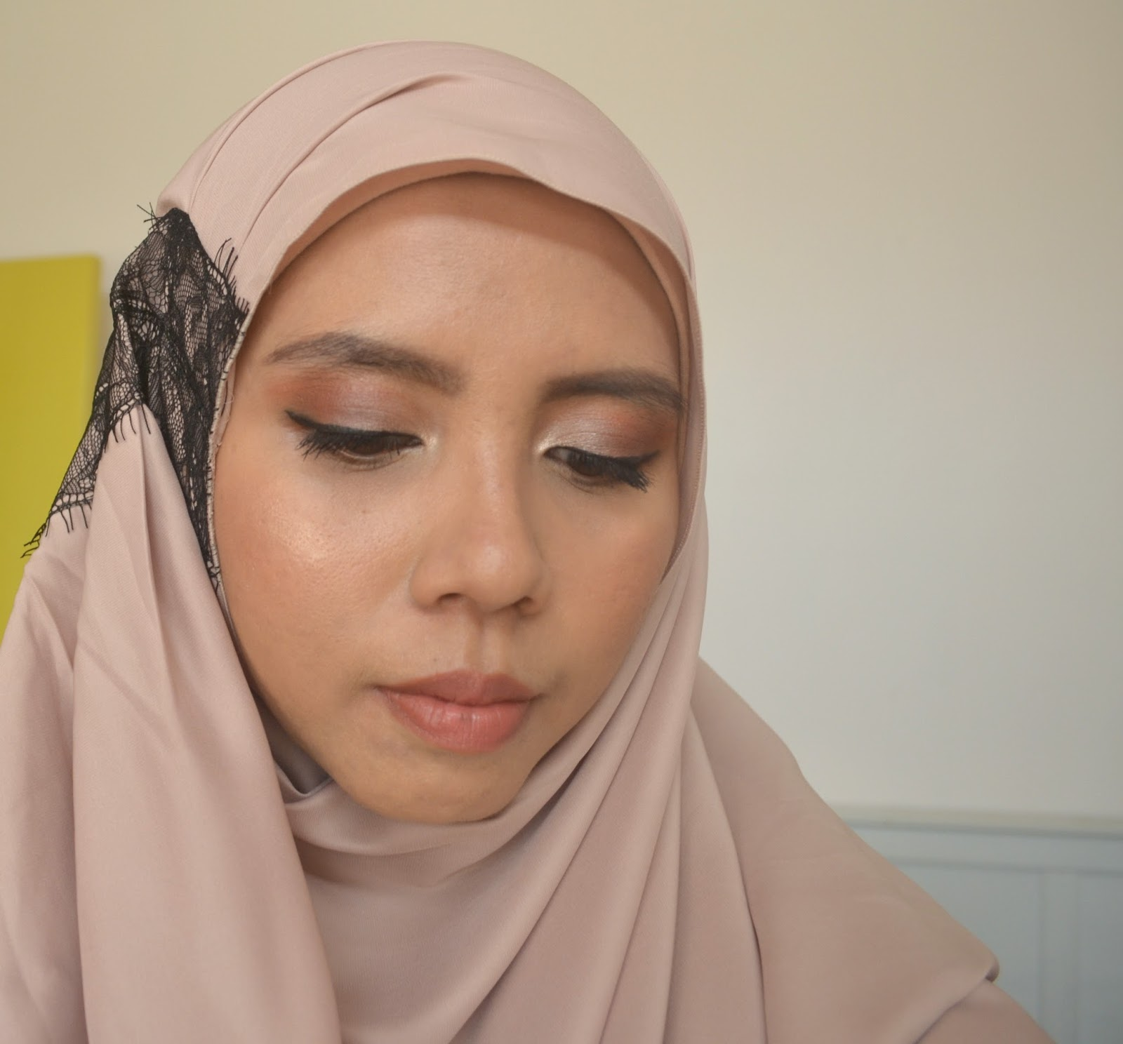 Fatimahearts Nude And Earthy Makeup In Collaboration With Sleeping With Makeup