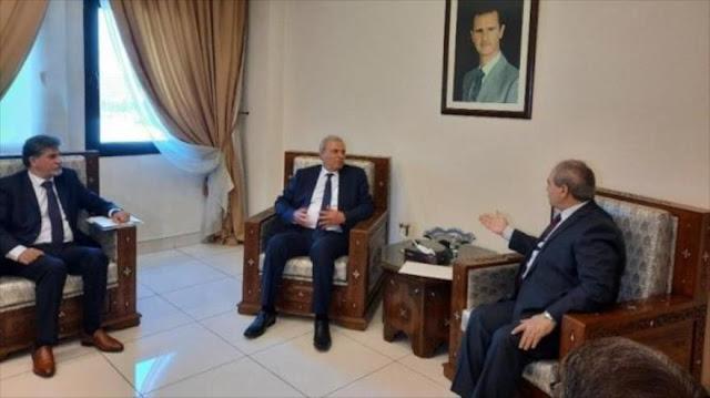 Siria ratifica su apoyo a la causa palestina en contra de Israel
