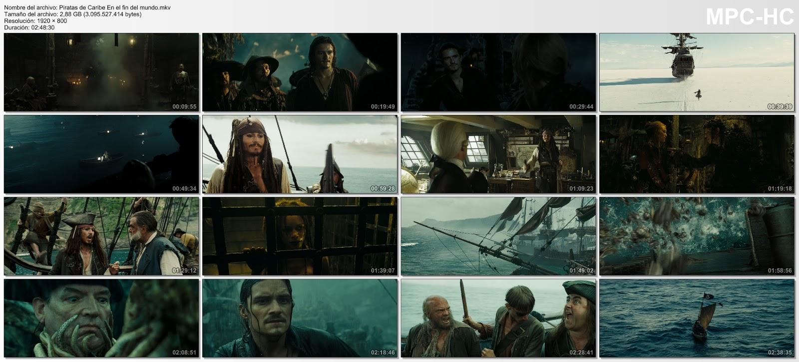 Piratas del Caribe 2 UHD 4K Latino captura 1