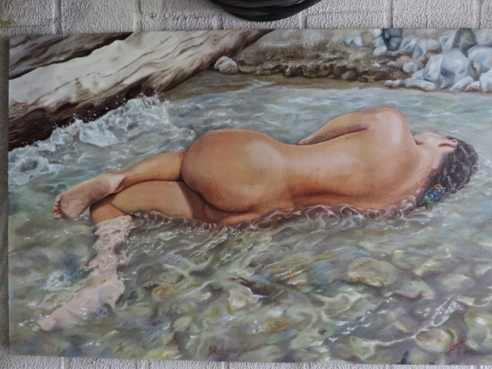 pintura realista Jorge Marín