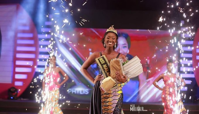 Phylis Vesta Boison is Miss Malaika 2019
