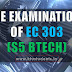 Re Examination of EC 303 Applied Electro Magnetic Theory (S5 BTech)