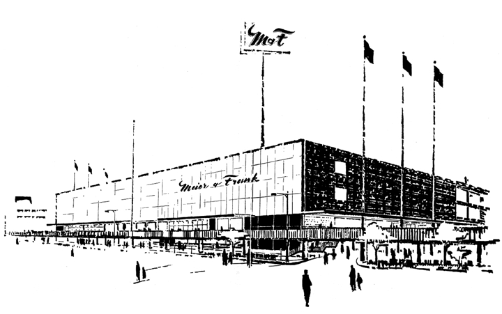 The Department Store Museum Meier Amp Frank Co Portland