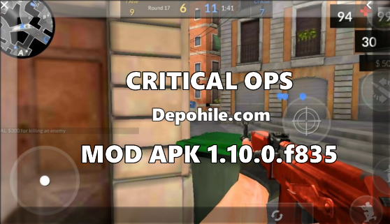 Critical Ops v1.10.0.f835 Mod Radar - Sekmeme Hileli Apk