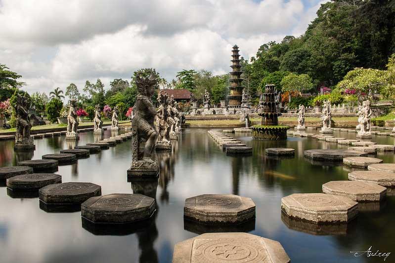 Taman Tirta Gangga Karangasem Bali