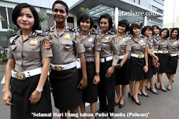 Kumpulan Ucapan Hari Ulang tahun Polisi Wanita (Polwan) terbaru