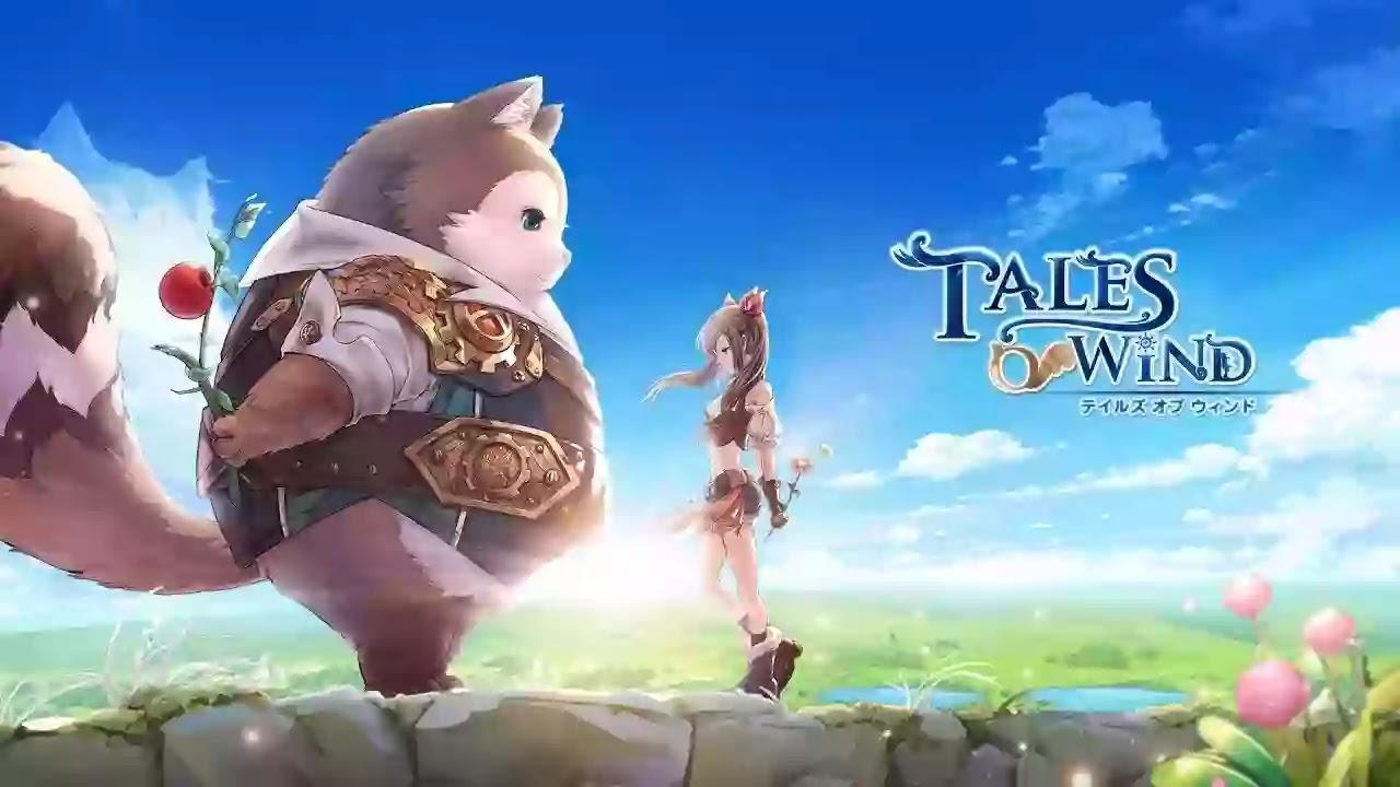 Tales of Wind استمتع بلعبة RPG المثيرة مع لاعبين من جميع أنحاء العالم وأنت تنضم إلى أبطال آخرين في مغامراتك في عالم الخيال والجمال