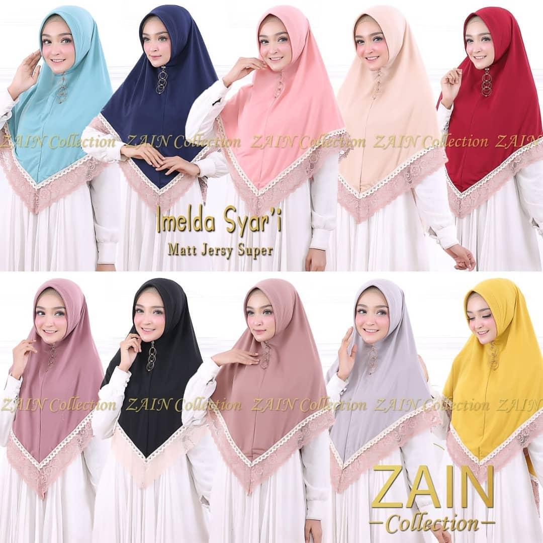 Grosir Jilbab Instan Brokat Termurah di Madiun